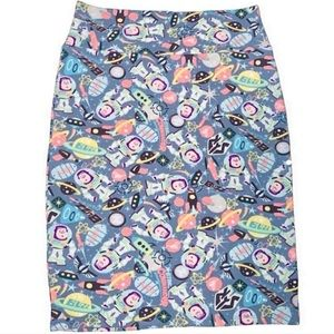 NEW LuLaRoe Disney Buzz Lightyear skirt - Large